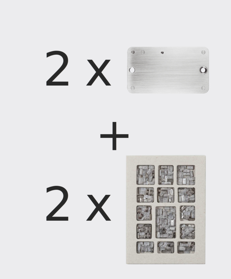 Cryptosteel 2-Pack