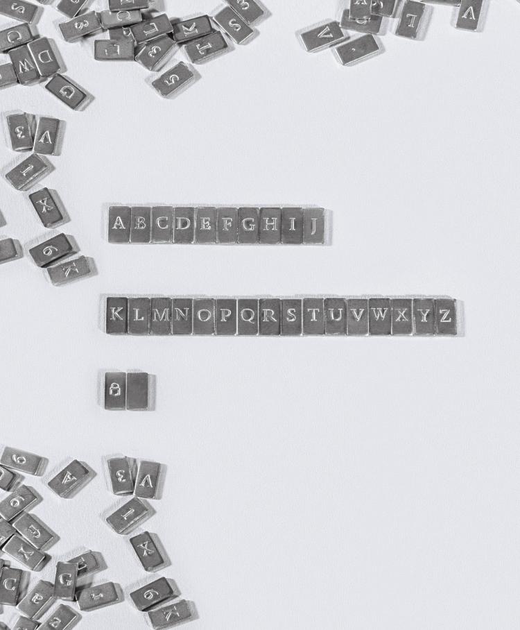 Cryptosteel Mnemonic Letters