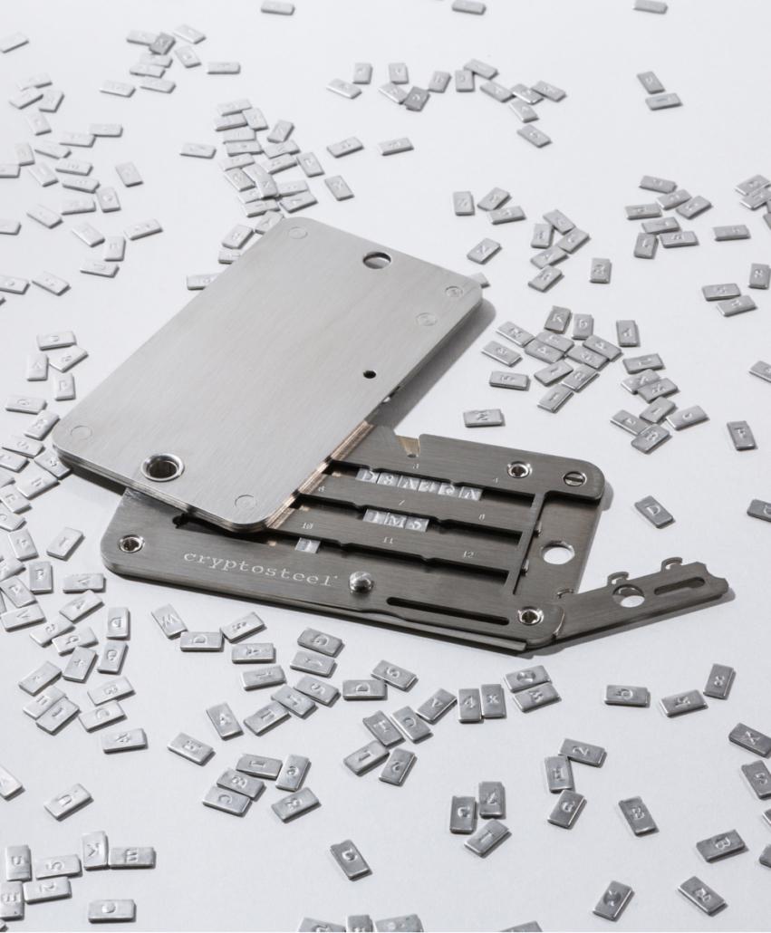 Cryptosteel cassette