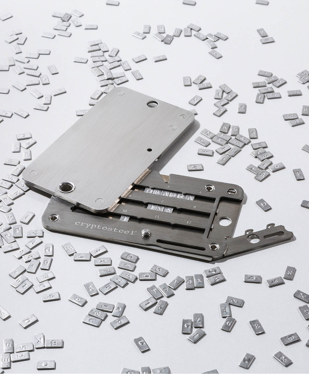 Cryptosteel • Master of All Backups • Media Kit