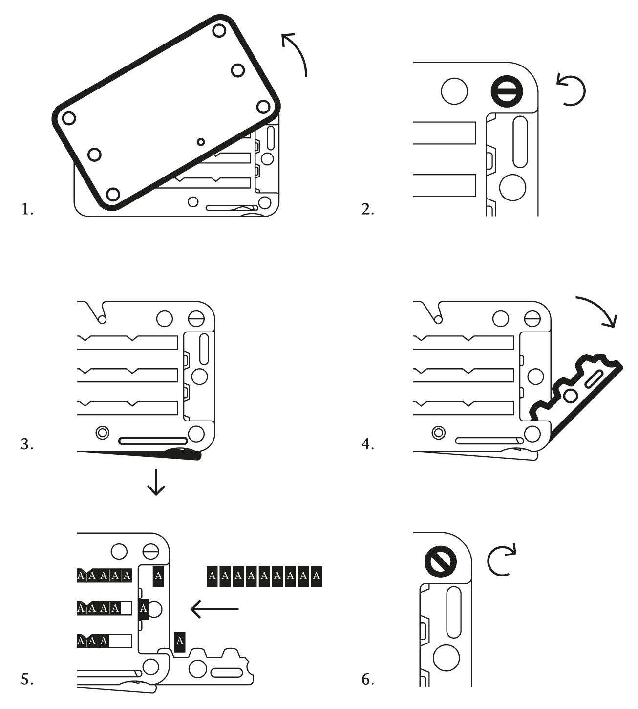 Cryptosteel Cassette User Manual