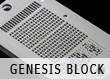 Cryptosteel engraving Genesis Block