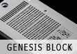Cryptosteel engraving Genesis Block