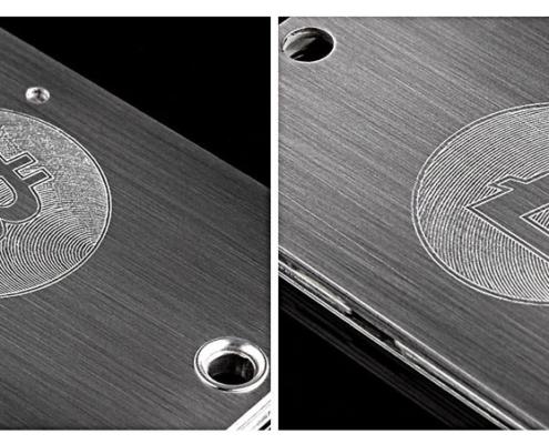 Cryptosteel custom engravings