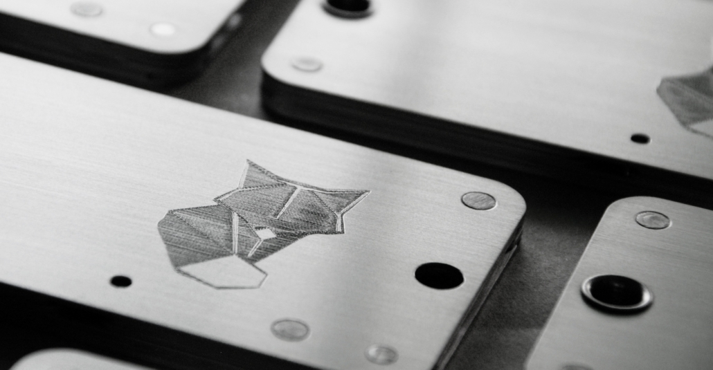 Cryptosteel ShapeShift special edition closeup
