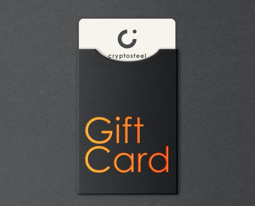 Cryptosteel Gift Card